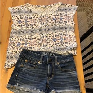 Lucky Brand size small size00 American Eagleshorts
